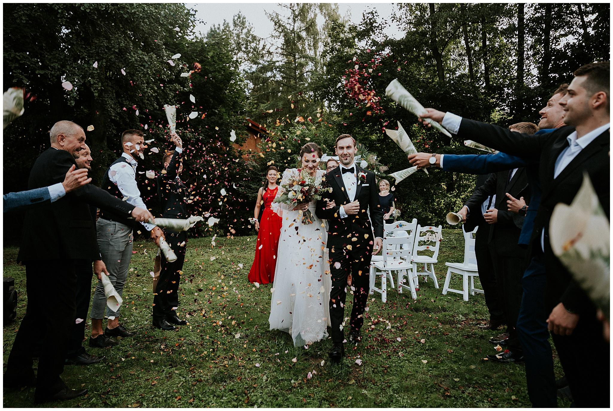 Naturalny ślub Katarzyny i Grzegorza